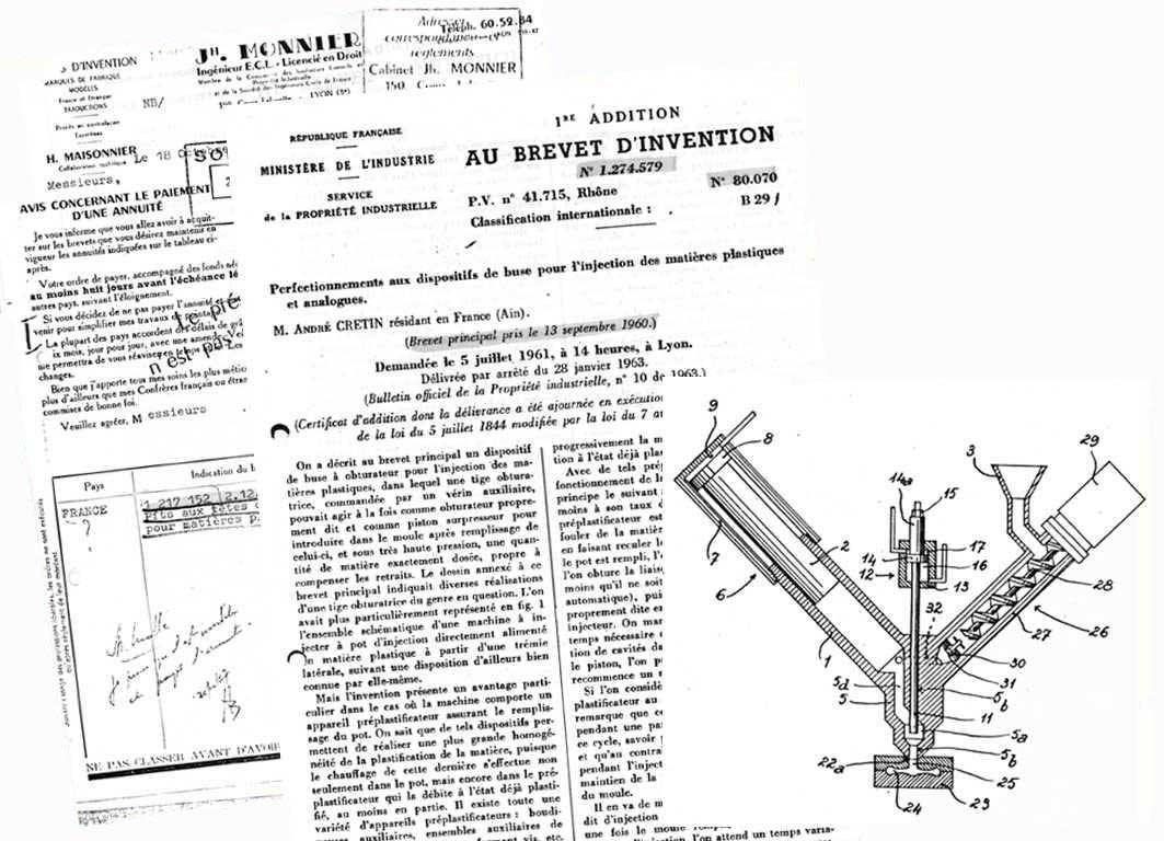 brevet d'invention REP