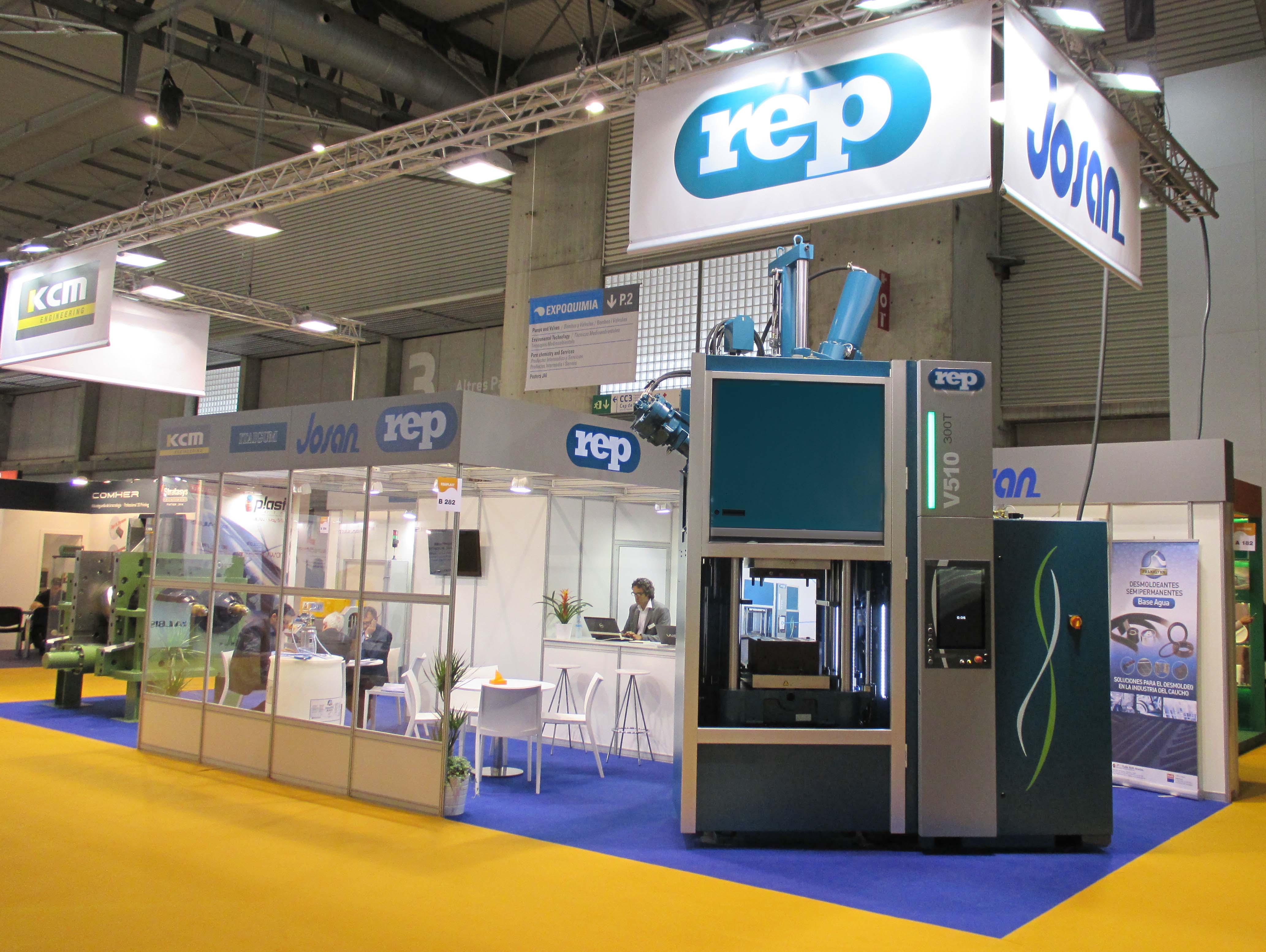 Stand REP Josan  Equiplast Barcelone 2014